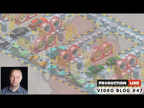 Production Line Game: Dev blog #47 (Conveyor Fixes & more)