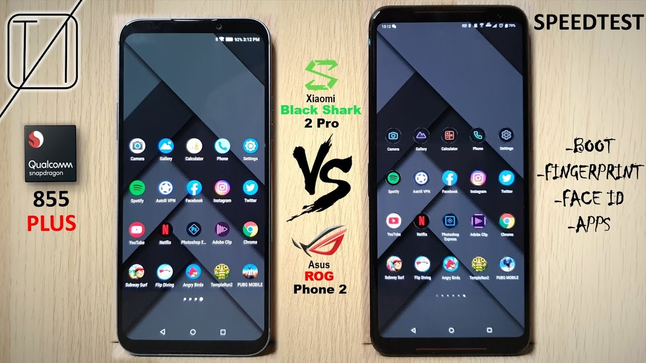 Black Shark 2 Pro vs ROG Phone 2 Speed Test
