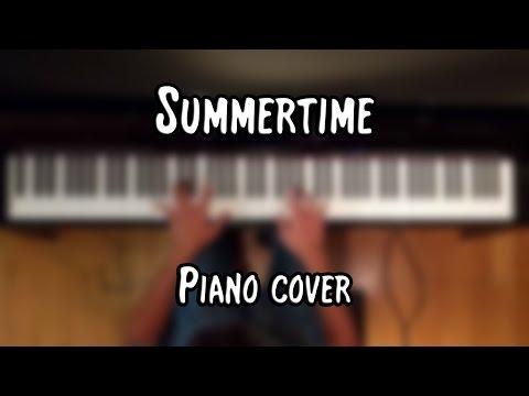 Janis Joplin - Summertime (piano cover & free sheet music)
