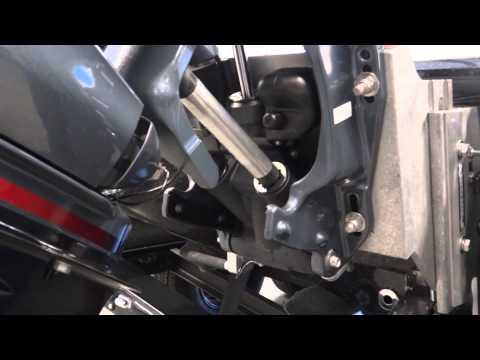 MOTOR STIK™ Outboard Motor Support Installation