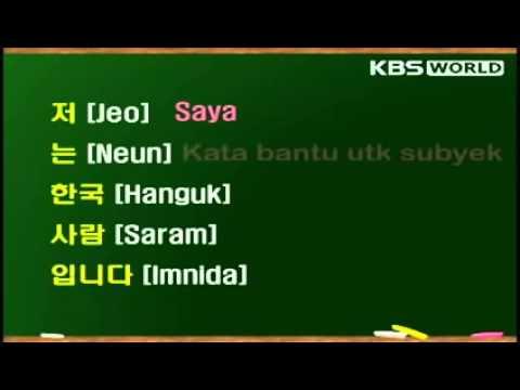 Memperkenalkan Diri Dengan Bahasa Korea 3