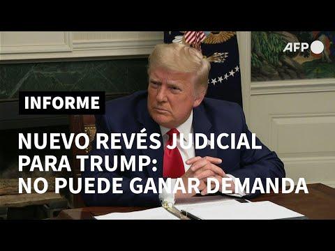 AFP Español: Nuevo revés judicial para Trump: