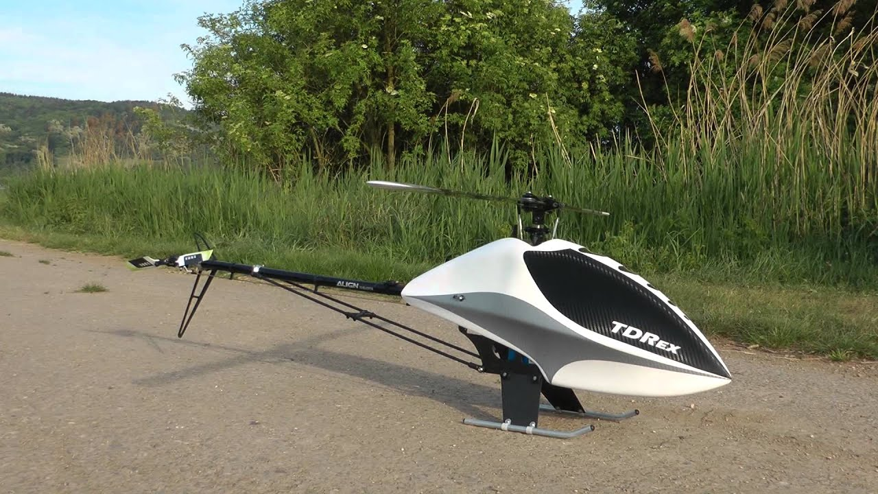 TDRex new Canopy Design TDR and TRex700 & TDRex new Canopy Design TDR and TRex700 - YouTube