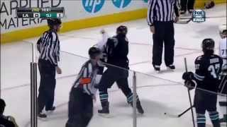 Us vs. Them. San Jose Sharks v. LA Kings 2014 Stanley Cup Playoffs