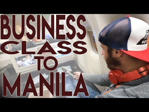 My First Time in Business Class: Turkish Airlines to Manila, Philippines