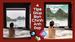Dùng Quickshot, Picsart, Snapseed Sao Cho Chất | Bí Kíp Chỉnh Ảnh Xịn Xò ♡ TRAM LE ♡
