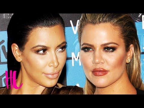 Kim Kardashian Calls Out Khloe Kardashian On Plastic