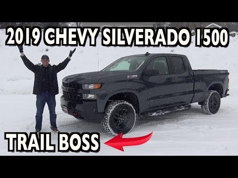 Trail Boss Review: 2019 Chevrolet Silverado 1500 on Everyman Driver