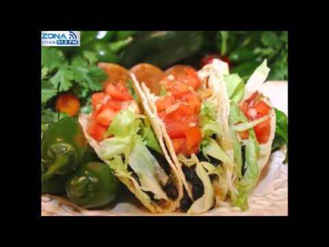 Zona Gourmet Comida Mexicana Saludable  YouTube