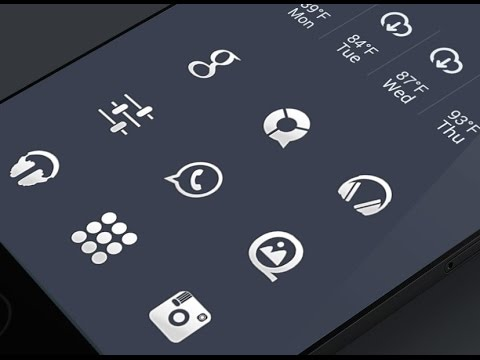top 5 must icon packs on android march 2016