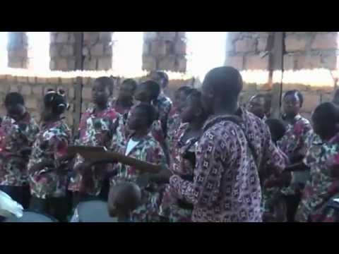 Choir from the Wesleyens church from Congo