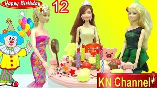 KN Channel tổ chức tiệc sinh nhật tháng 12  Bé Na LÀM ẢO THUẬT BIRTHDAY PARTY TOYS