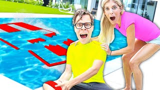Matt Has Accident During Jumping Through Impossible Shapes Challenge! Bad idea