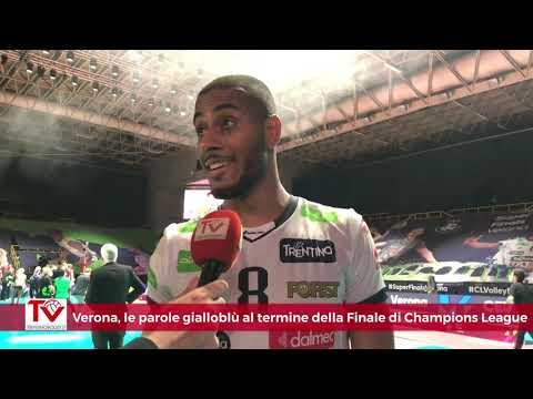 Verona, le parole dei gialloblù al termine della Finale di 2021 CEV Champions League