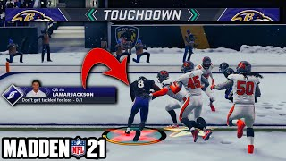 I played Madden 21