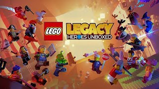 Official LEGO Legacy Heroes Unboxed - Gameloft - Trailer iOS / Android