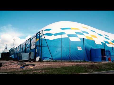AIR DOME: CARDIFF INTERNATIONAL SPORTS CAMPUS