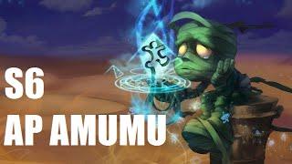 AP AMUMU JUNGLE S6 - Full Gameplay w/ Commentary