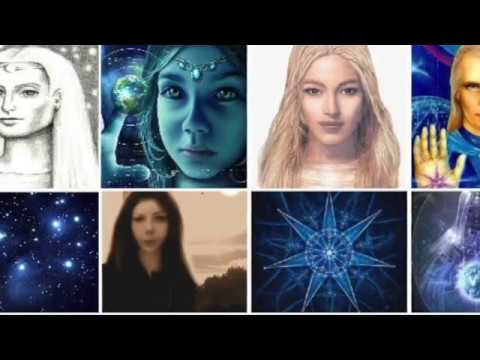 Different Pleiadian Alien Beings Part 1 -  Pleiades Astral Travel Channeling Empath