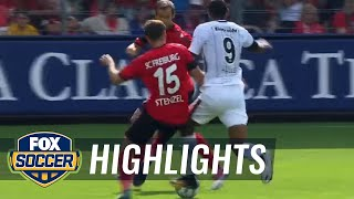 SC Freiburg vs. Eintracht Frankfurt | 2017-18 Bundesliga Highlights