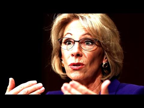 Senate Speak Against Betsy DeVos for Secretary of Education