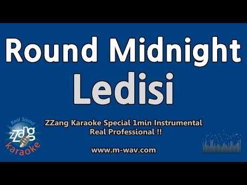 Ledisi-Round Midnight (1 Minute Instrumental) [ZZang KARAOKE]