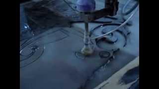 Гидроабразивная порезка мрамора, стекла, мтеалла(, 2014-03-03T18:58:59.000Z)