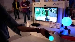 Playstation Move + Kung Fu Rider(功夫滑仔)