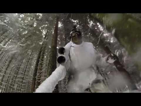 밀덕들의 대규모 bb탄 서바이벌 (겨울편)  Snow Sniper Team