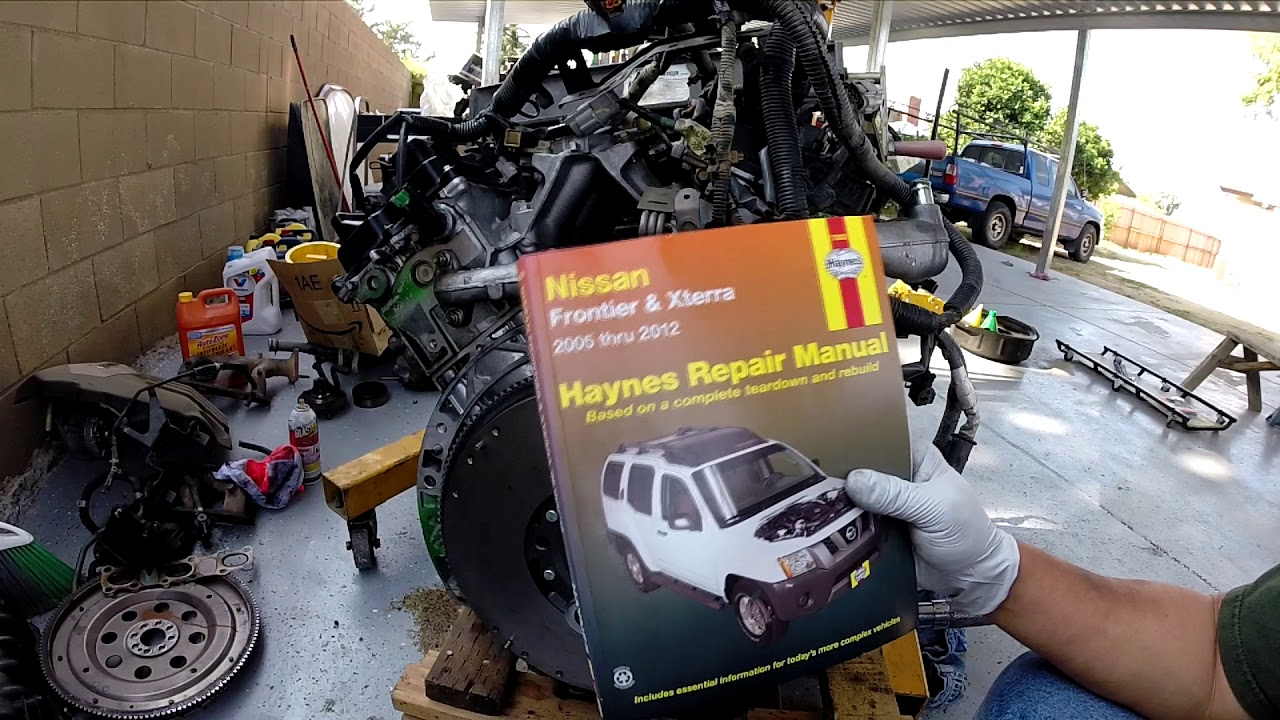 hight resolution of 2005 2011 nissan frontier and pathfinder clutch installation