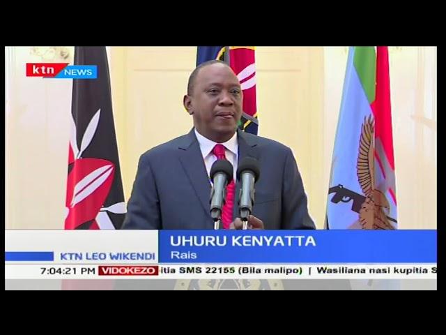 Rais Uhuru Kenyatta ahimiza wakenya kudumisha amani msimu wa sherehe