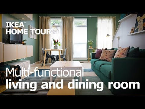 Living Room Ideas for a Small Space - IKEA Home Tour (Episode 407)