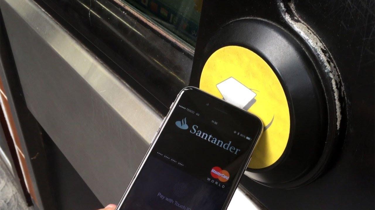Using Apple Pay On the Underground
