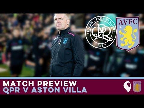 MATCH PREVIEW | QPR v Aston Villa