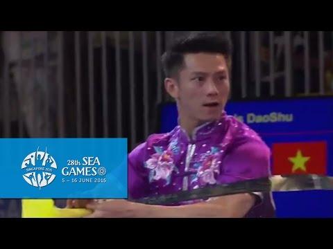 Wushu - Men's Optional Broadsword (Day 3) | 28th SEA Games Singapore 2015