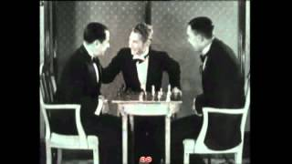 Max Euwe And Capablanca(The Chess Machine) !RARE FOOTAGE!