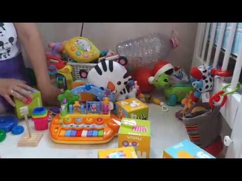 Игрушки, игры для ребенка 10 месяцев до года. Развитие малыша с 10 месяцев