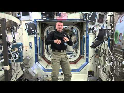 ISS Astronaut Helps Make a Difference from space