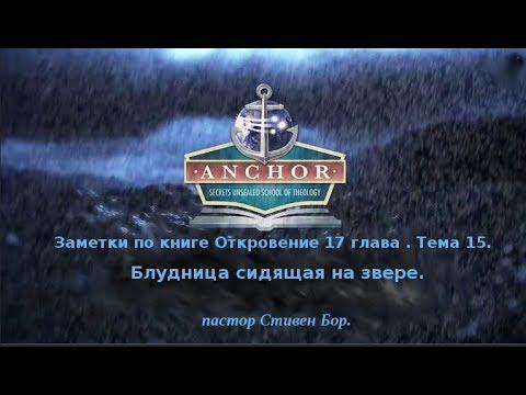 Урок 15. Заметки по книге Откровение. Даниила 11 и Откровение 17-я главы. Стивен Бор.