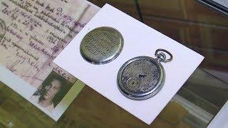 Именные часы Крючкова. Музейный экспонат ВСМПО