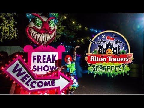 Alton Towers Scarefest Vlog October 2017