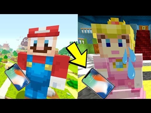 Mario Breaks Up With Peach! [PHONE CALLS!] - Super Mario Series - (Minecraft Switch) [280]
