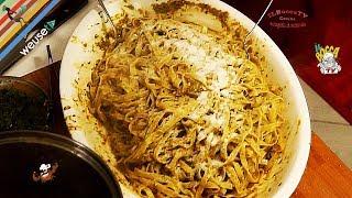 33 - Tagliatelle di Norma..e subito in forma (primo piatto di terra vegetariano semplice e veloce)