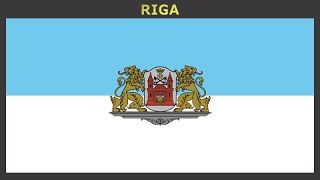 Flags of cities of Latvia