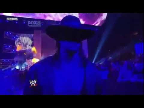 Undertaker's new Entrance 2011