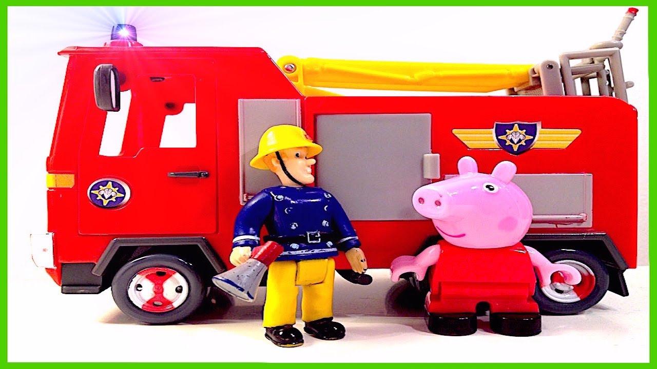 new fireman sam episode english peppa pig playset toy