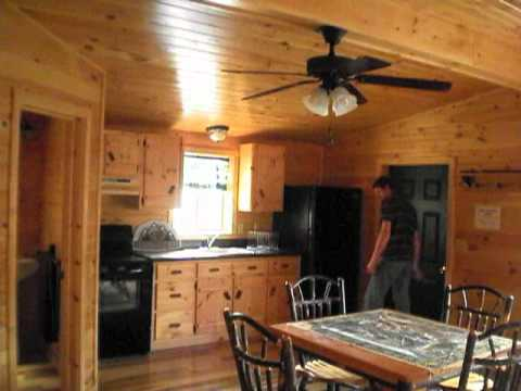 2 Story Shed House Interior