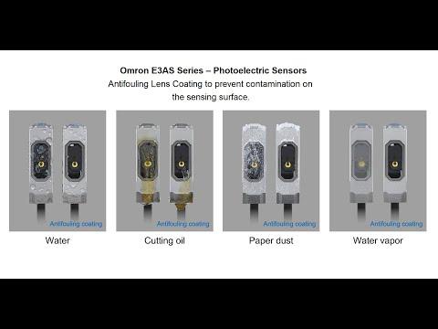 E3AS-valokennot - likaantumista estävä pinnoite