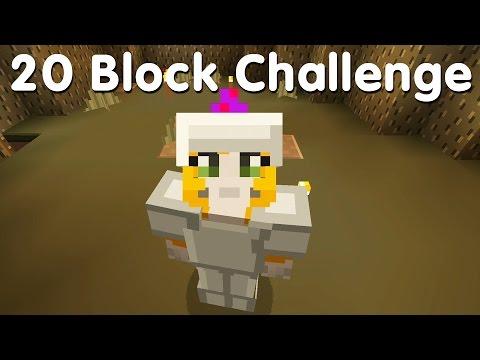 Minecraft PS4 - 20 Block Challenge - Growing My Home (19)