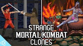10 Strange Mortal Kombat Clones / Видео